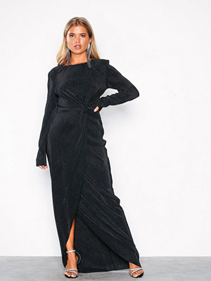 NLY Eve Padded Pleated Gown