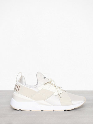 Sneakers & streetskor - Puma Muse Satin Vit