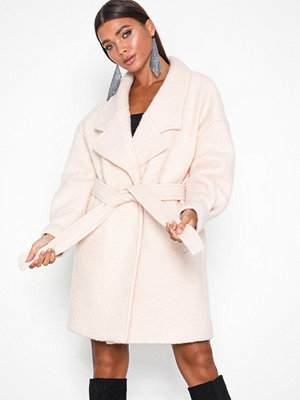 Selected Femme Slfpaja Wool Coat B Ljus Rosa