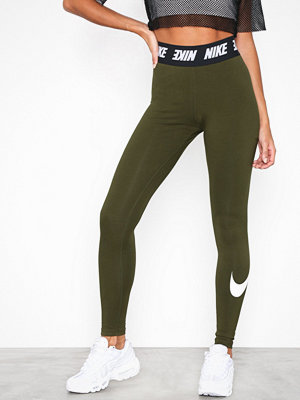 Leggings & tights - Nike NSW Club Legging HW Olive