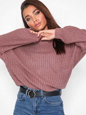 Jacqueline de Yong Jdyhanni L/S Pullover Knt Lila