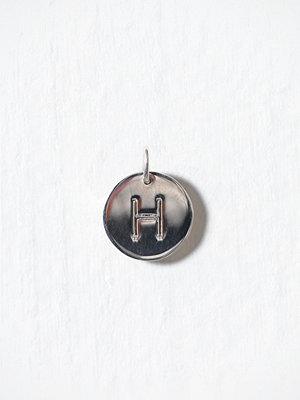 Blue Billie smycke Letter Pendant H