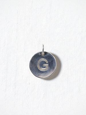 Blue Billie smycke Letter Pendant G