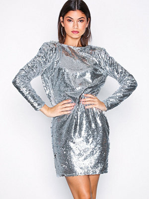 NLY One Cowl Back Sequin Dress