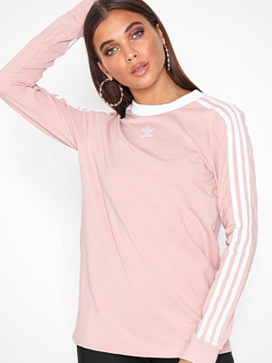 Adidas Originals 3 Stripes Ls Pink