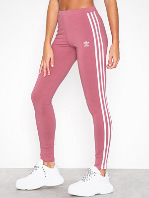 Leggings & tights - Adidas Originals 3 STR Tights Maroon