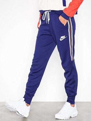 Nike marinblå byxor NSW Jogger Pant Lila