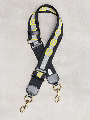 The Marc Jacobs svart väska MARC JACOBS WEBBING STRAP