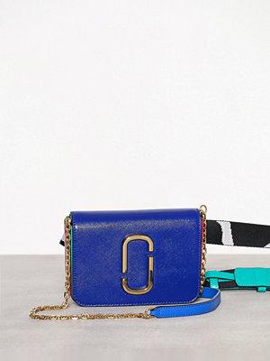Marc Jacobs marinblå axelväska Hip Shot Blue Multi