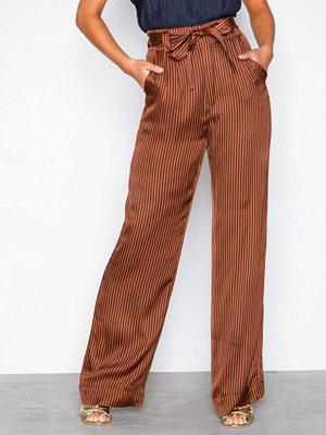Gestuz bruna randiga byxor Veronica pants Stripes