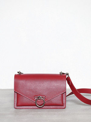 Rebecca Minkoff röd axelväska Jean Md Shoulder Bag Scarlett