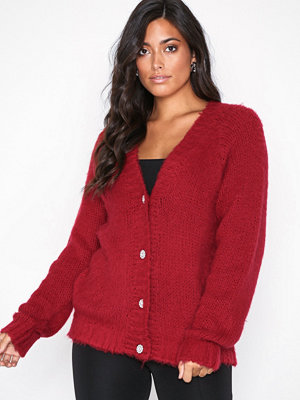 NLY Trend Luxury Knit Cardigan Röd