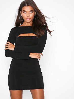 Motel Shimiye Dress Black