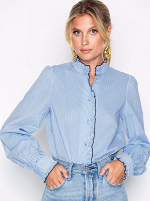 Skjortor - Vero Moda Vmclaudia Ls Shirt Blå