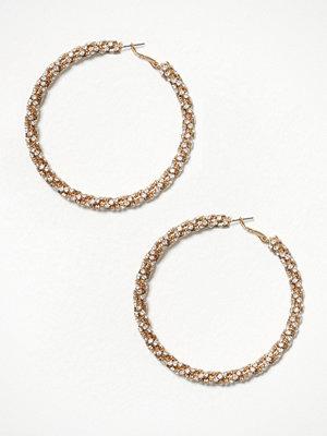 River Island örhängen Sparkle Bobble Rope Hoop Metal