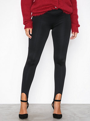 Leggings & tights - NLY Trend Jersey Ski Pants Svart