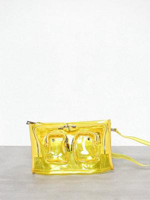 NuNoo gul axelväska Stine Transparent