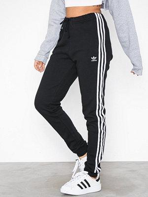 Adidas Originals randiga byxor Regular TP Cuff Pant Svart
