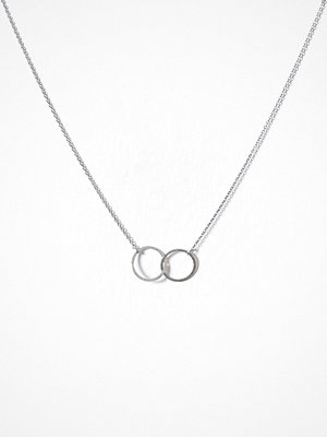 MINT By TIMI halsband Double Circle Necklace Silver