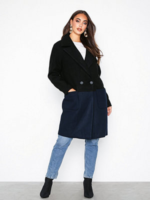 Only onlCHRISTA Oversized Wool Coat Otw Svart