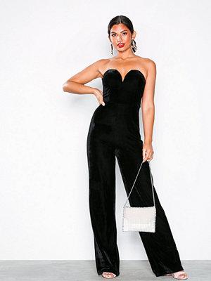 NLY Eve Bustier Jumpsuit Black