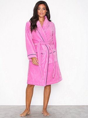 Rayville Joan Bathrobe Solid Rosa