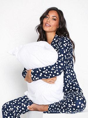 Pyjamas & myskläder - Rayville Debbie Pyjamas Fancy Dot Navy