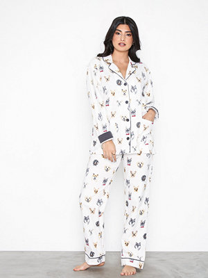Pyjamas & myskläder - P-J Salvage PJ Set Vit