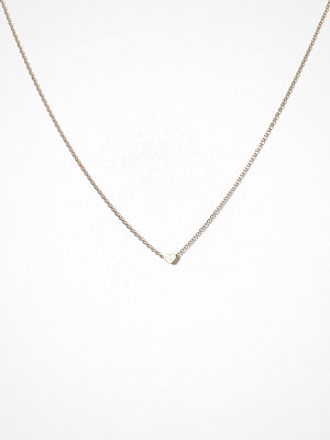 MINT By TIMI halsband Small sliding heart necklace Guld