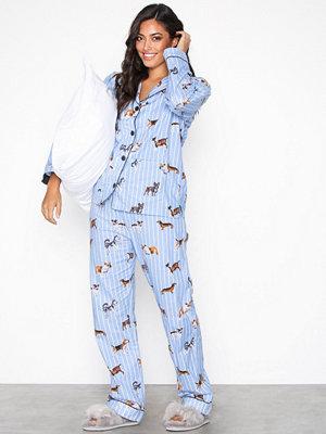 Pyjamas & myskläder - P-J Salvage PJ Set Ljus Blå