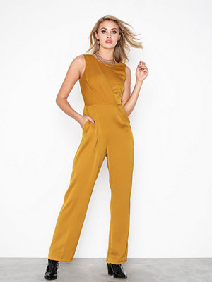 Closet Pleated Bodice Jumpsuit