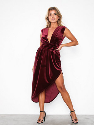 Honor Gold Haven Velvet Midi Dress