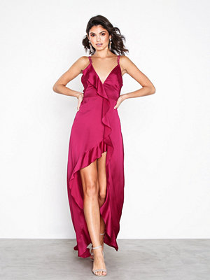 For Love & Lemons Isabella Ruffled Maxi