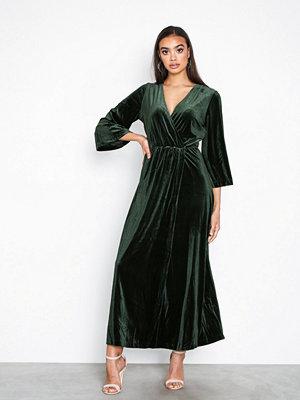 Y.a.s Yasbalea 3/4 Ancle Dress Mörk Grön