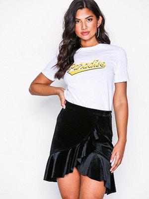 NLY Trend Velvet Frill Skirt
