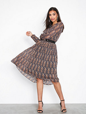 Neo Noir Addison Printed Dress