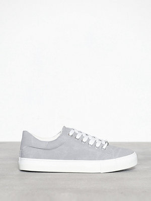 New Look Canvas Chunky Lace Up Trainers Grey