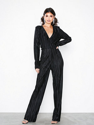 NLY Trend Pleated V Neck Jumpsuit