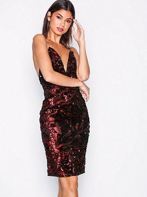 Festklänningar - NLY One Strappy Sequins Dress