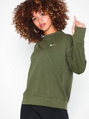 Sportkläder - Nike Trmasphr Elmnt Top CRW2.0 Olive