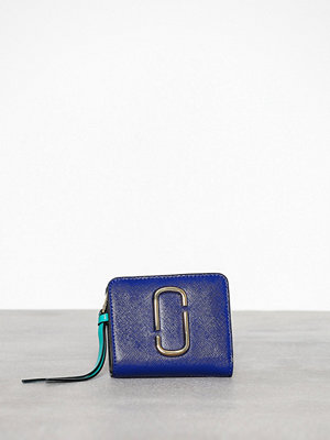 Marc Jacobs Mini Compact Wallet Blue Multi