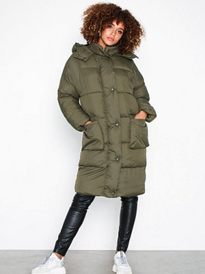 Missguided Longline Puffer Jacket