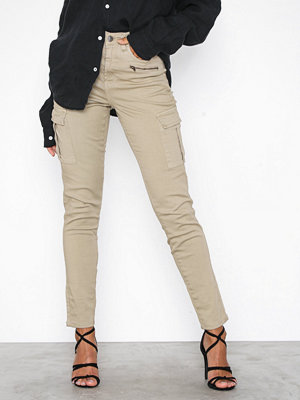 Jeans - NLY Trend Superstretch Cargo Pants Khaki