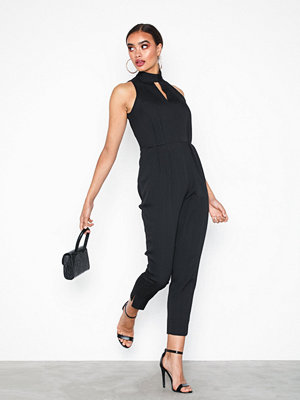 Closet High Pleated Jumpsuit