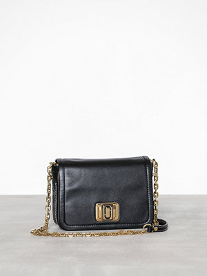 Marc Jacobs The Mini Squeeze/w Chain Svart axelväska