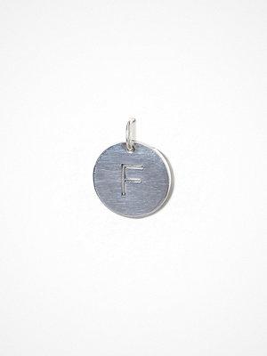 Blue Billie smycke Letter Pendant F
