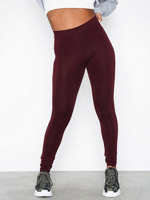 Leggings & tights - Adidas Originals Trefoil Tight Maroon