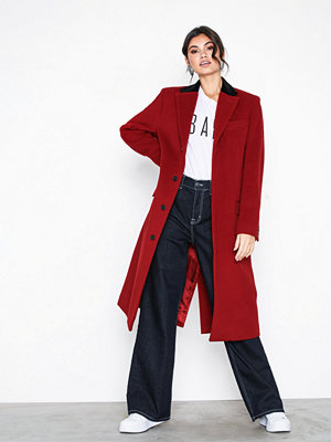 Lauren Ralph Lauren Hdy Chstfd C-Wool-Coat Red