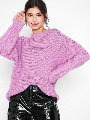 Glamorous Baloon Sleeve Jumper Pink
