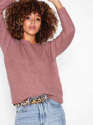 Jacqueline de Yong Jdyjusty 7/8 Noos Pullover Knt Lila